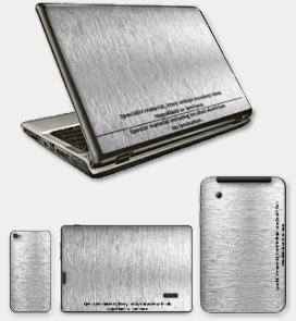 CARBON - Special ~ Brushed Aluminum ~ ThinkPad X230 ~ LENOVO